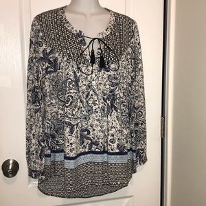 DR2 Light Weight Tunic sz small NWT